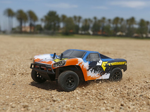 Torment 1:24 4wd SCT:Blk/Org RTR