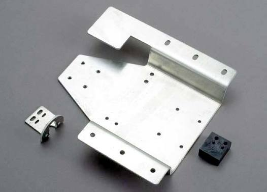 Tray, aluminum engine mounting/ RTS motor mount/gear resting block