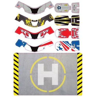 Upgrade FAZE Skins Set One w/ Helipad (4 skins)