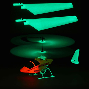 Upper Main Blade Set,Glow in the Dark (1 pr): BMCX