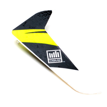 Vertical Fin with Decal Blade 120 SR E-Flite