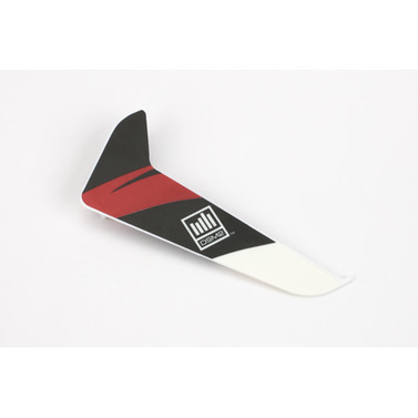 Vertical Fin with Red Decal Blade 120 SR E-Flite