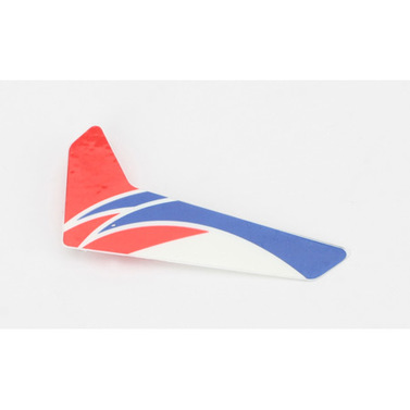 Vertical fin with decal mCP X Blade