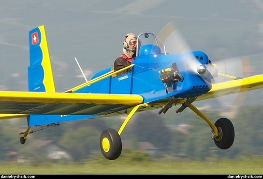 Volksplane VP-1 blau 1630 mm ARF