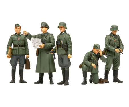 WWII Fig-Set Dt.Oberbefehlsh. (5) 1:35