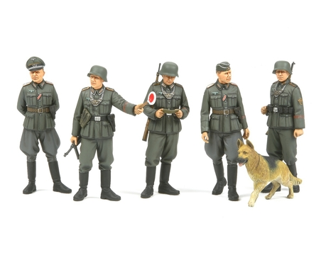 WWII Fig.-Set Dt. Feldpolizei 1:35