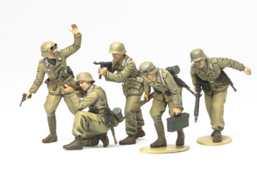 WWII Fig.-Set Dt.Afrika Korps Infa. 1:35