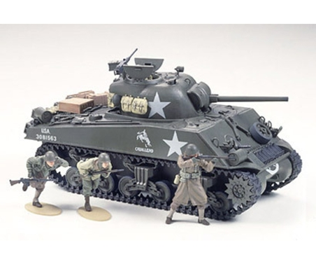 WWII US Sherman M4A3 75mm Spä.(9) 1:35