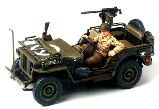 WWII US Willys Jeep MB 4x4 (1) 1:35