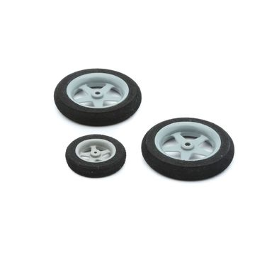 Wheel Set, 45mm(2) 30mm(1): Slick 3D 480 ARF