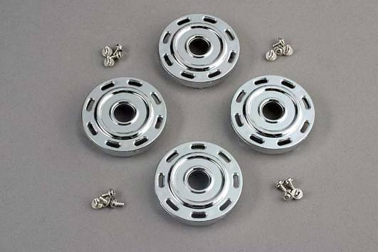 Wheel covers, Mercedes style (chrome) (4)/attachment screws (12)