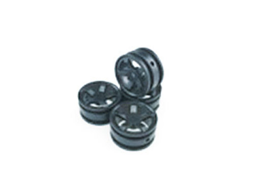 Wheels Rim 1-black 1:35 scaler