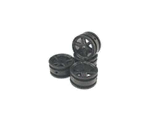 Wheels Rim 2-black 1:35 scaler