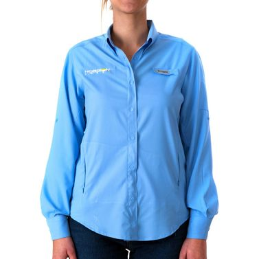 Womens Tam II L/S Shirt Blue X-Large