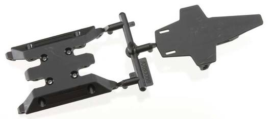 XR10 Chassis Skid Plate and Battery Mount Set