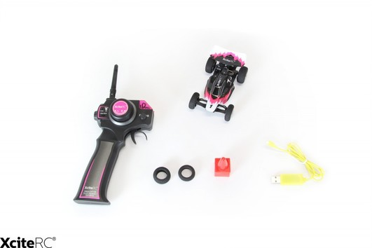 XciteRC High Speed Racebuggy - 2WD RTR 1:32 Pink