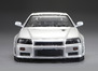 Karosserie Nissan Skyline R34 195mm Perl Weiß lackiert, RTU all-in