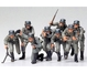 WWII Fig.-Set Dtsch. Infanterie (8) 1:35