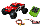 CEN Reeper Monster Truck 1/7 Brushless Schweighofer Combo