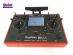 DC-16 duplex 2.4 GHz Jeti Carbon RED Multimode