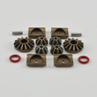 Differential Gear and Support Set, for 1 Diff.