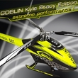 Goblin 380 Kyle Stacy Edition Kit mit 3-Blatt Kopf