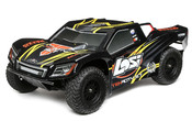 LOSI Tenacity SCT 4WD Short Course Truck AVC 1:10 RTR (schwarz/gelb)