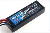 LiPo Pack nVision Factory Pro LiPo 8000 90C 7,4V 2S Deans Stecker