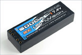 LiPo Pack nVision Factory Pro LiPo 8000 90C 7,4V 2S Double tubes