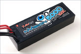 LiPo Pack nVision Factory Pro Lipo 6000 100C 7.4V 2S Deans