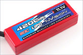 LiPo Pack nVision Racing Lipo 4200 60C 11,1V 3S Deans