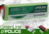 LiPolice Greenline 30C New Light Edition 3700/3S 11,1V