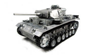 Panzer III,  Vollmetall, 2,4GH RTR + Airsoft, TRUE Sound
