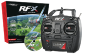 RealFlight - Flugsimulator RF-X - Software mit Interlink-X Controller