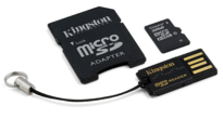 Secure Digital Kingston microSDHC 32GB, Class 10, Mobility-Kit