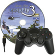 Simulator EasyFly USB Gamepad mit kostenlosem EasyFly 4 Starter Edition Download