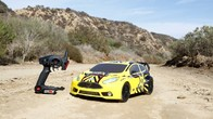 Vaterra Ford Fiesta RallyCross 1/10th 4WD RTR Car mit AVC Technologie