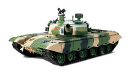 ZTZ99 MBT   R&S/2.4GHZ/Holzbox Metallgetriebe/QC, Armee:China