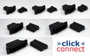 click connect Multipin-Verbinder 2 Pins 0,5 - 1,0 mm²