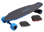 eSkateboard Yuneec E-GO2 Royal Wave (blau) - Set mit LED light