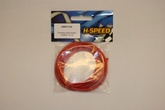 flexibles Silikonkabel 14AWG 1m rot